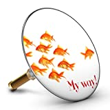 Bath Plopp Goldfish My way Bath Plug, Sink Plug, Bathtub Drain Plug, Drain Stopper, 4530