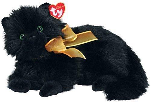 Amazon Com Ty Classics Moonstruck Black Cat Toys Games