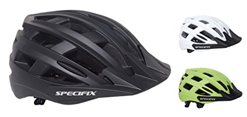 Specifix Cycling Bicycle CPSC Certified Adjustable Bike Safety Adult Helmet with detachable Visor – Great for Road and Mountain Biking – MTB – Provides an excellent fit for both Men and Women.