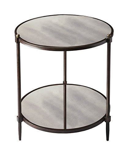 BUTLER 3048025 PENINSULA MIRRORED SIDE TABLE