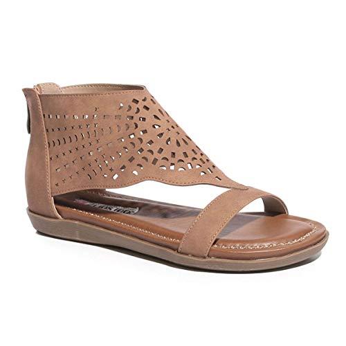 2 Lips Too Women's Too Crissy Sandal, tan, 7.5 M US