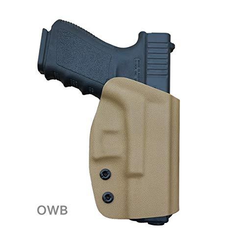 Glock 19 Holster OWB Kydex For Glock 19 19x /