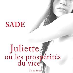 Juliette ou les prospérités du vice | Livre audio