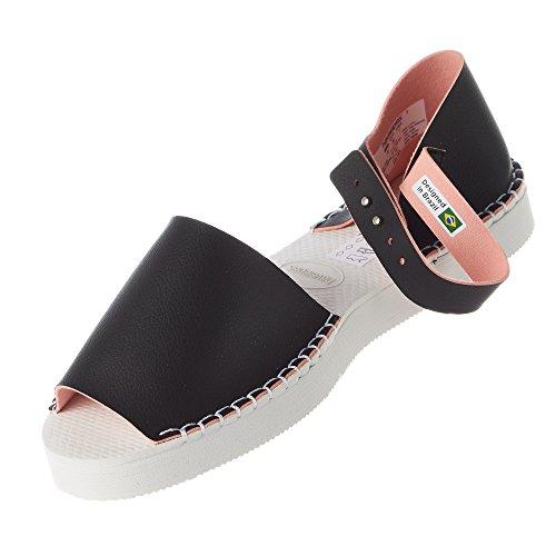 Fashion Flatform pink Womens Black Havaianas Espadrille Ef51w4qn