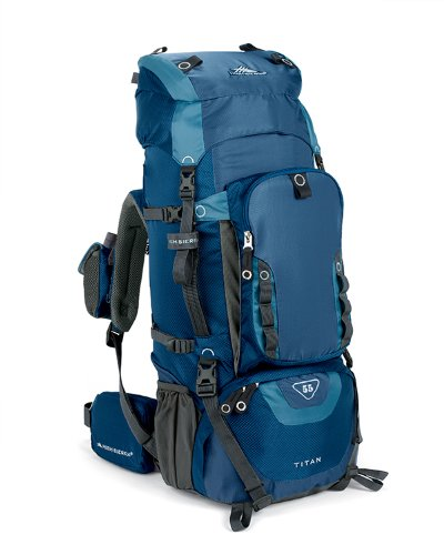 High Sierra Titan 55 Frame Pack Pacific/Altitude, Outdoor Stuffs