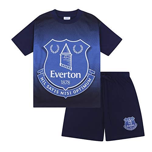 Everton FC Official Football Gift Boys Short Pyjamas