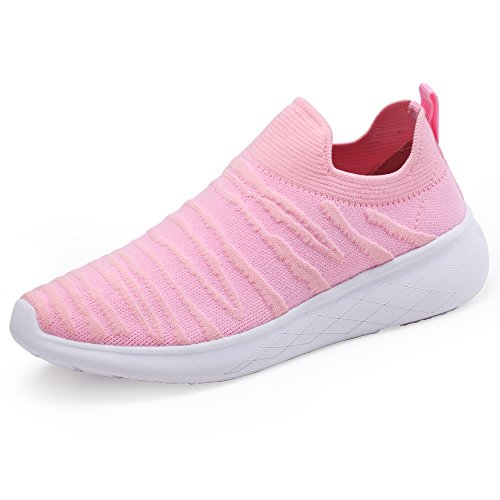 (J.LMH Women's Sneakers Slip-on Walking Athletic Tennis Shoes)