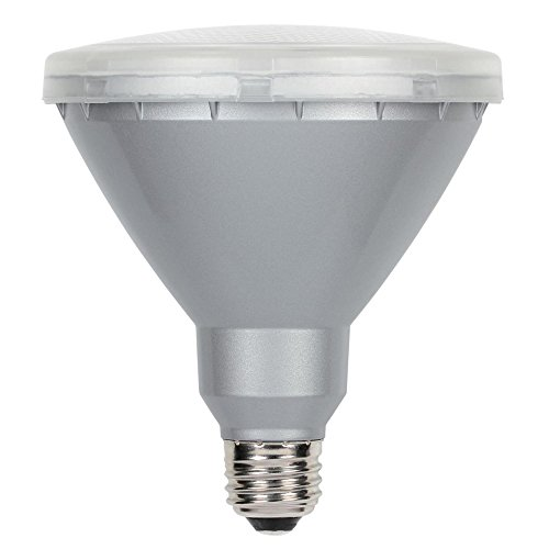 - Westinghouse Lighting 5009100 15 (90-Watt Equivalent) PAR38 Flood Cool White Outdoor Medium Base LED Light Bulb, Single Pack, Clear