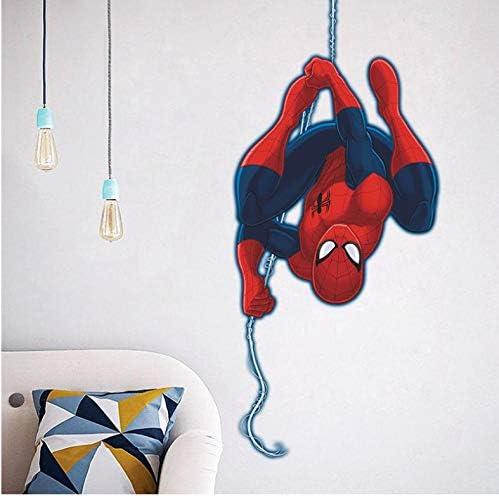 Spiderman Super Hero Stickers Muraux Enfants Chambre D/écor Avengers Diy Accueil Stickers Bande Dessin/ée Film Mural Art Affiche