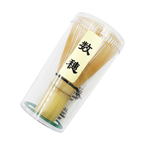 Ulable Herramienta de bambu chasen para batir te matcha en polvo, accesorio para la ceremonia del te japonesa, 60-70/70-75/75-80 varillas, bambu, 60-70 prongs