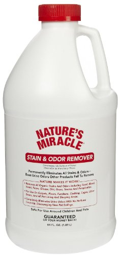 Nature's Miracle Stain and Odor Remover 64oz (.5 Gallon)