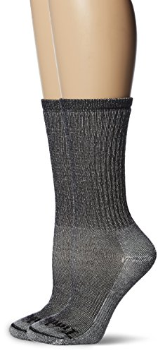 Timberland Women's Boot Sock Collection, Black, OSFM, 2 Pairs per Pack ()