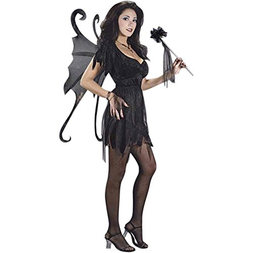 Girls Teen Midnight Fairy Costume