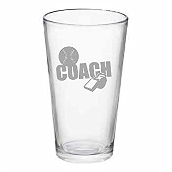 Sports Coach 14 oz Pub Glass or 25 Beer Mug pick your sport (4 to choose from)