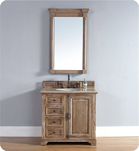 36 in. Single Vanity Cabinet in Driftwood by James Martin Furniture