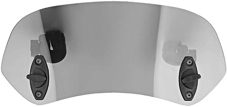 universell verstellbarer Clip On Windschutzscheibe Windabweiser Windschutzscheibe Zubeh/ör f/ür Motorrad Tawny Suuonee Motorrad Windschutzscheibe