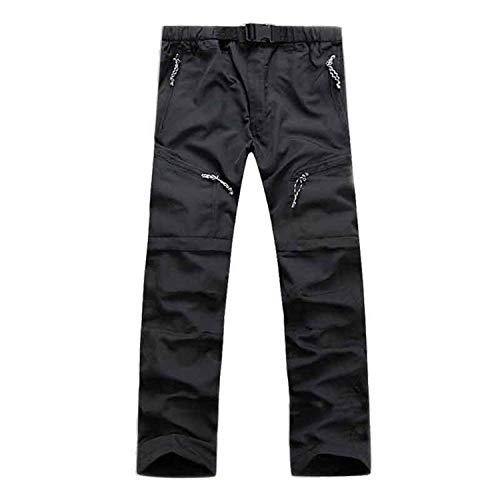 Cómodo Hombres Exteriores Deportivos Para Straight Battercake Sólido Casual Largos Negro Color High Jogging De Moda Pantalones Carga RfqwIp7nz