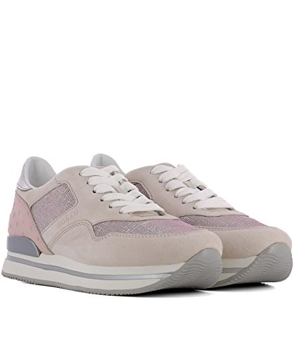 Hogan Sneakers Donna HXW2220N62DIH40QA8 Camoscio Rosa