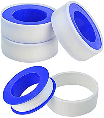 5x Roll Teflon Plumbing Fitting Thread Seal Tape PTFE For Water Pipe