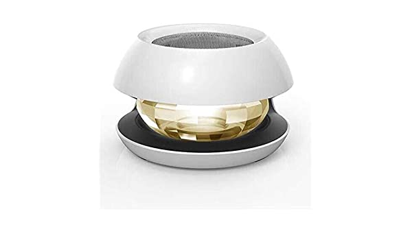 ETH Purificador del aire del coche del cristal del purificador del aire de la bola mágica blanca del ión negativo del coche del cristal del LED Conveniencia: Amazon.es: Coche y moto