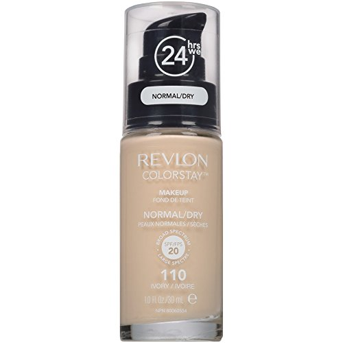 Revlon ColorStay Liquid Foundation For Normal/dry Skin,Ivory, 1 Fl Oz
