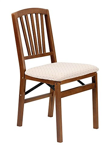 Slat Folding Chair Fruitwood Finish Explained