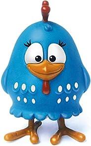 Boneco Galinha Pintadinha, Elka, Azul