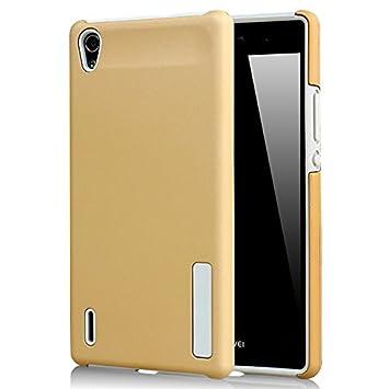 CaseFirst Huawei Ascend P7 Funda, Silicona y PC Estuche 2 en ...