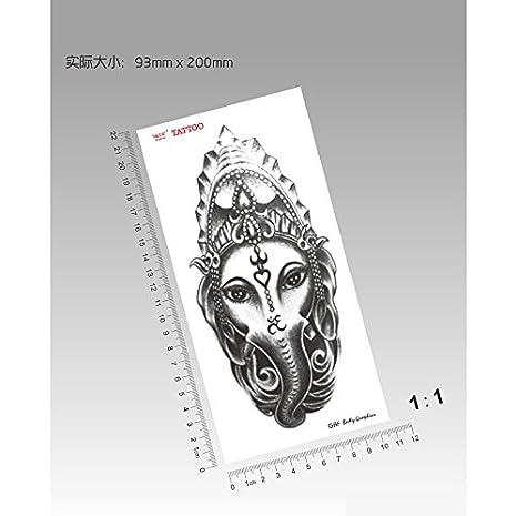 Zokey impermeable tatuaje temporal totem como dios como dios ...