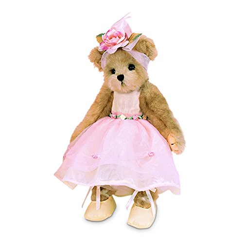 "Bearington Tiny Toeshoes Plush Stuffed Animal Ballerina Teddy Bear 10"""