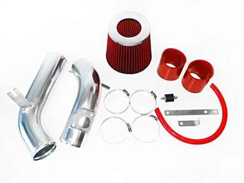 """2.75/"""" BLACK Cold Air Intake Induction Kit Filter For 03-08 Mazda6 6 2.3L L4 N//A"""