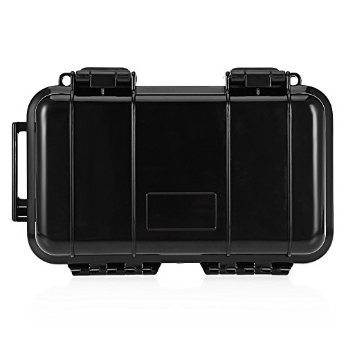 Price comparison product image Fenta Outdoor Waterproof Survival Case with Foam Storage Container Shockproof Transport Box Airtight by