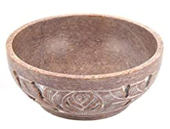 NEW Soapstone Scrying and Smudge Bowl (S...