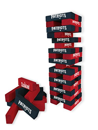 England Game Products New Patriots - Wild Sports NFL New England Patriots Table Top Stackers Game