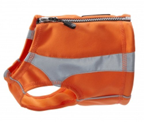 Hurtta Lifeguard Polar Vest, Orange, Large by Hurtta