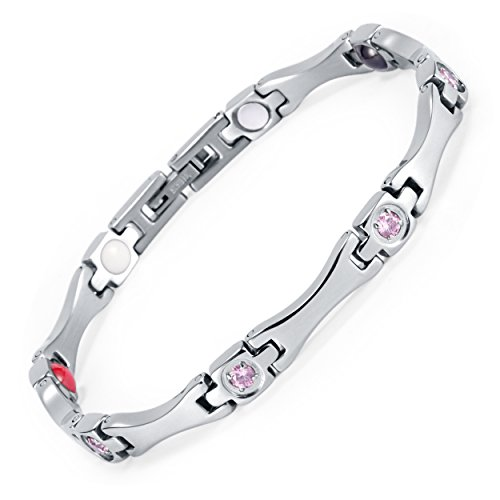 WelMag New Design Fashion Magnetic Therapy Bracelet for Women Charm Adjustable - Bracelets Magnetic Therapy Fashion