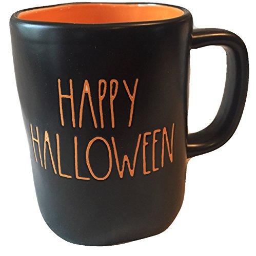 Rae Dunn Large Letter Black Happy Halloween Artisan