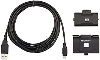AmazonBasics - Kit Carga y Juega para Xbox One: Amazon.es: Electrónica