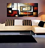 ARTLAND Modern 100% Hand Painted Abstract Oil