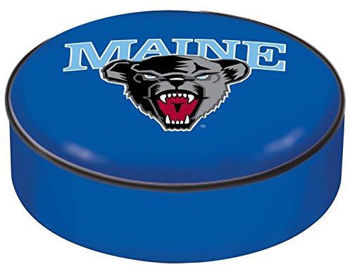 NCAA Maine Black Bears Bar Stool Seat Cover by Covers by HBS