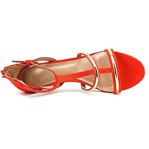 Style & Co.Hughley - plataforma mujer, color naranja, talla 36