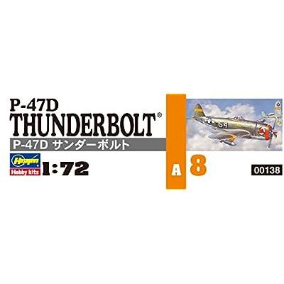 Hasegawa 00138 1/72 P-47D Thunderbolt: Toys & Games
