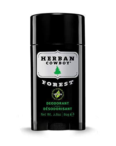 Herban Cowboy Deodorant 2.8 oz | Men's Deodorant | No Parabens, No Phthalates, No Aluminum & Certified Vegan … (Forest)