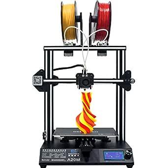 Geeetech 3d impresora A20 M Dual de extruder Prusa I3 rápido ...