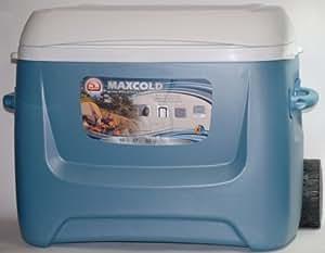 Amazon Com Igloo Maxcold Island Breeze Rolling Cooler 60