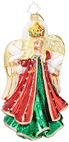 Christopher Radko Hand-Crafted European Glass Christmas Decorative Figural Ornament, Gallant Guardian (Sale Christmas For Handcrafted Ornaments)
