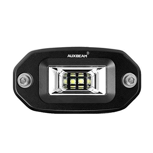 Auxbeam 4Inch Led Light bar Flush Mount LED Pods Flood Beam