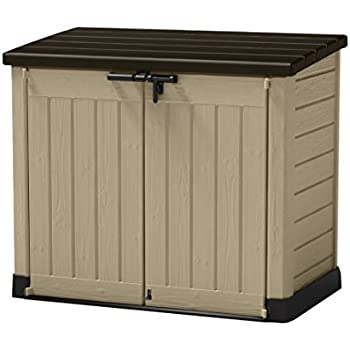 wood storage sheds sears by amazon com keter factor large 6 x 3 ft resin outdoor