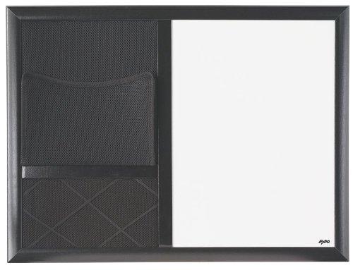 EXPO Dry Erase Board, Composite Frame, - Combo Center