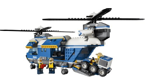 Amazon.com: LEGO City Police Heavy-Lift Helicopter 4439: Toys & Games
